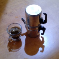 Cafeteras: Café preparado con cafetera Napoletana